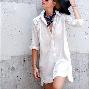 Madewell Poplin Shirtdress
